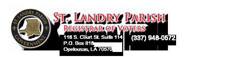 St Landry Parish Registrar Of Voters